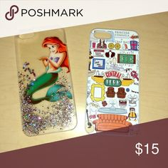 iPhone 5/5s cases This is for Little Mermaid & Friends iPhone 5/5s phone covers. Asking $15 for both or best offer. Willing to accept offers. Accessories Phone Cases