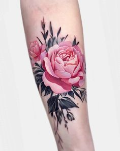 Pink rose with grey leaf. 5 hours on @krissylang . ▪️Openin