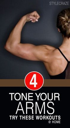 Want to tone and tightened your arms? This awesome home workout for women is the best way to sculpt arm muscles and slim down flabby arms. Fitness Motivation, Fitness Diet, Health Fitness, Rogue Fitness, Fitness Logo, Muscle Fitness, Best At Home Workout, At Home Workouts, Arm Workouts