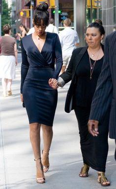 Rihanna's - Funeral Clothes?