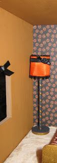 Another easy DIY from Dollhouse Decorating!: How to make your own doll house floor lamp.