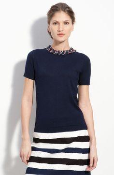 Kate Spade Sidekick Sweater in Blue (true navy) - Lyst