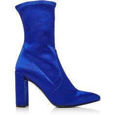 Stuart Weitzman     Clinger Boots ($575) ❤ liked on Polyvore featuring shoes, boots, stuart weitzman, stuart weitzman boots and stuart weitzman shoes