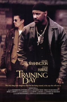 Training Day Movie Poster 27 X Denzel Washington, Ethan Hawke, A, Licensed & Garden Films Cinema, Cinema Posters, Movie Posters, Art Posters, Denzel Washington Films, Training Day Movie, Batman Training, Race Training, Running Training