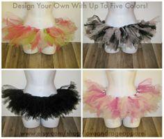 Custom Tutus: Design your own in 1-5 colors. #rave #music #festival #club #ravewear #clubwear #dance #gogo #dancer #edm #plur #edc #umf #custom #bra www.etsy.com/shop/loveandrageapparel