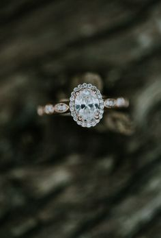 rose gold engagement rings which look amazing Gold Wedding Jewelry, Wedding Rings Vintage, Vintage Engagement Rings, Gold Jewellery, Jewlery, Beautiful Engagement Rings, Rose Gold Engagement Ring, Wedding Engagement, Oval Engagement