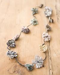 sophie digard flower necklace - love!