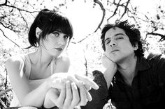 "Dave Hill Photography  ""She & Him"" - I love Zooey :)"