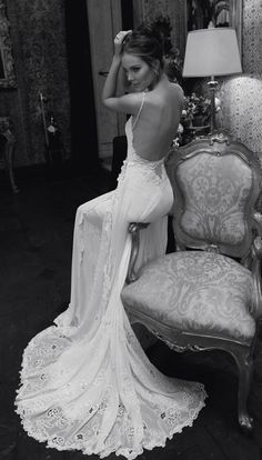 Wedding Ideas: old-hollywood-wedding-gown