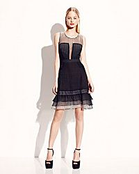 Betsey Johnson Sleevelees Lace Dress