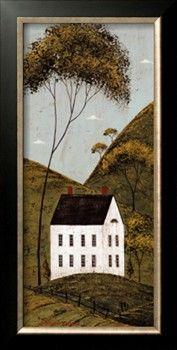 Country Panel III House by Warren Kimble