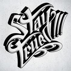 pinterest.com/fra411 #typography #lettering Stay True!
