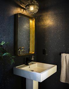 55 Best Bathroom Mirror Ideas For a Small Bathroom - home - Bathroom Decor Hand Painted Wallpaper, Bathroom Wallpaper, Wall Wallpaper, Wallpaper Ideas, Wallpaper For Home, Interior Wallpaper, Trippy Wallpaper, Perfect Wallpaper, Home Interior Design