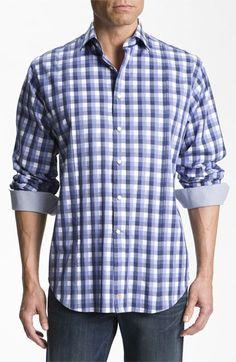 Thomas Dean Gingham Sport Shirt | Nordstrom