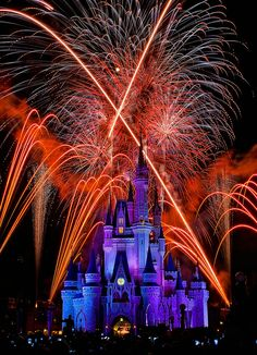 Magic Kingdom - Fireworks Come Early #disney #disneyworld