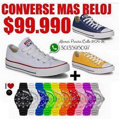 Converse y reloj ALAMOSMODA  COMPRA SEGURA!...