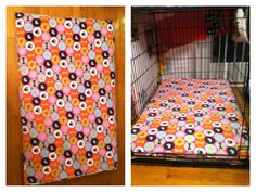 DIY dog bed for crate. - size - XL for 42\