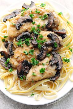 Treat yourself to luxuriously flavorful homemade chicken Marsala.