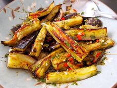 This is another winner of a recipe from Yottam Ottolenghi. If you have a fondness for eggplant you're going to love this dish. I normally find eggplant that has been baked rather than fried a littl...