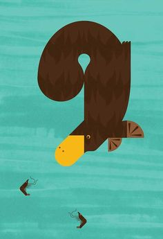 It's Nice That : Alan Dalby's charismatic animal illustrations are an absolute treat