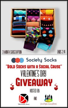 "Ogitchida Kwe's Book Blog : Society Socks ~ ""Bold Socks with a Social Cause"" V..."