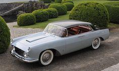 "frenchcurious: ""  Lancia Aurelia B56 ""Florida"" 1956. """