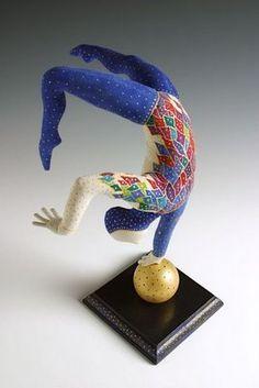 dee dee triplett - delicate balance art doll