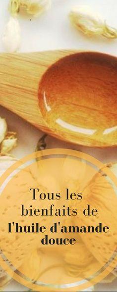 Tous les bienfaits de l'huile d'amande douce pour votre beauté Healthy Beauty, Bread, Massage, Sport, Food, Pregnancy Hair, Homemade Cosmetics, Home Made, Beauty Recipe
