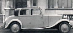 1933 Saloon by Thrupp & Maberly (chassis GWX22) for L. Lodge