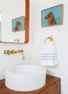 Brass Bathroom Hardware