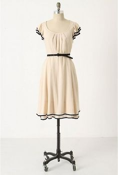 Time Gone by Dress, #anthropologie