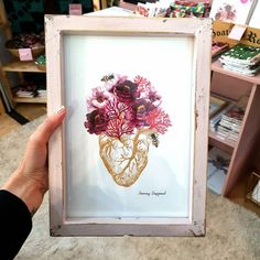 HEART print Heart Print, Frame, Home Decor, Products, Picture Frame, Decoration Home, Room Decor, Frames, Home Interior Design