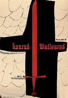 Zbigniew Kaja Konrad Wallenrod 1957