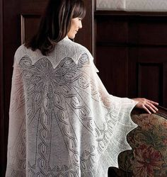 Ravelry: Kowhai and Fern Shawl pattern by Margaret Stove. Circle shawl; I have this pattern