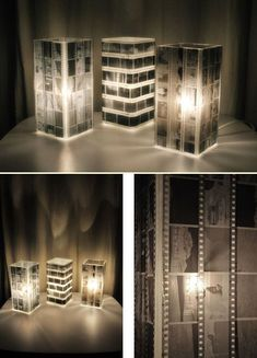 Upcycling Lampe Negative #diy #lampen #upcycle