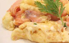 Dieta Dukana :: Jajecznica z łososiem :: Przepisy Zasady Efekty