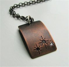 At Twilight copper pendant  made to order by silentgoddess on Etsy, $28.00