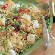 Orzo with Roasted Vegetables - Barefoot Contessa