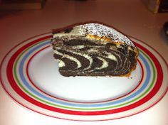 Flat Footed Foodies: zebra cake