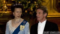 The Princess Royal wears her Diamond Festoon Tiara at the French state banquet at Windsor Castle, 26 March 2008 Princesa Anne, Baby Baker, Money Images, Royal Jewelry, Jewellery, Royal Tiaras, Royal Princess, Save The Queen, Queen Elizabeth Ii