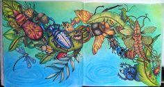 #exotischerurwald #exotickyprales #goodwivesandwarriors #coloringforadult…