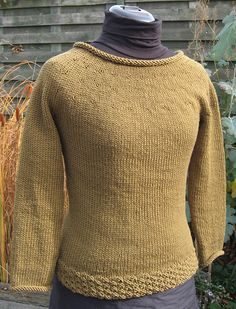 Simplest Sweater By Juliet Romeo Juliet - Free Knitted Pattern - (ravelry)