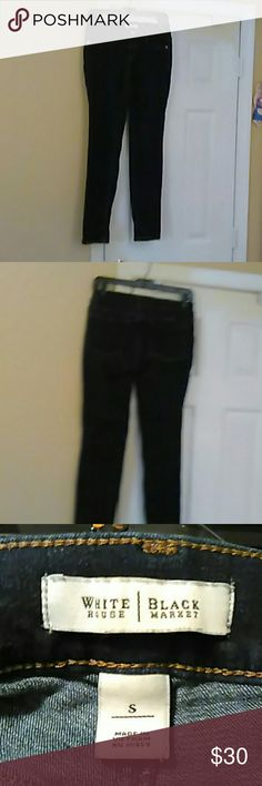 Jeans Nice like brand new straight leg White House Black Market Jeans Ankle & Cropped