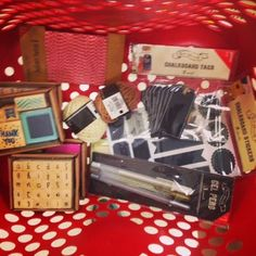 A Social Geek: Dollar Spot Crafting. Check out all the supplies I got from $1-$3 at @target and see the cards I made with all my finds!