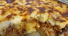 Παστίτσιο με εύκολο τρόπο ! Cookbook Recipes, Cooking Recipes, Lasagna, Casserole, Dishes, Ethnic Recipes, Food, Greek, Meat