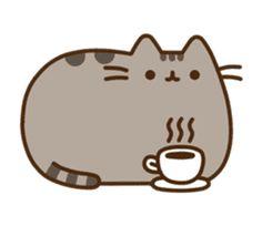 Pusheen the Cat by Sony Digital Entertainment Cute Easy Drawings, Cute Kawaii Drawings, Kawaii Doodles, Cute Doodles, Gato Pusheen, Pusheen Love, Cat Wallpaper, Cute Wallpaper Backgrounds, Pusheen Stickers