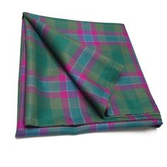 Dunans Rising Tartan Fabric – Double-Width