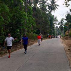 12 km. Morning walk #newleafdetoxresort #health #healthresort #detox #detoxresort #kohsamui #thailand