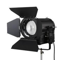 LED Fresnel DMX 160W 220V e batterie