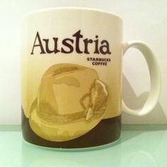 Starbucks City Icon Mug - Austria